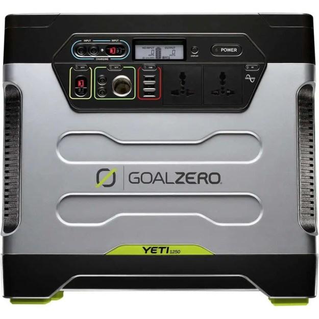 Front of Yeti 1250 generator