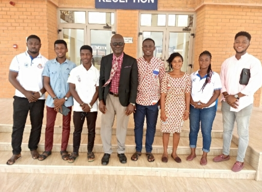 UCCABS Executives Elect visits Nduom School of Business and Technology