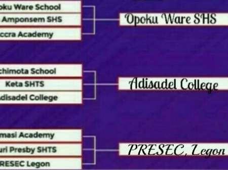 2020 NSMQ: Presec, Adisco And OWASS In Final Battle On Thursday