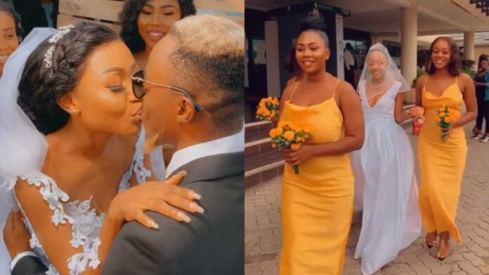 Akuapem Poloo Finally Shows Off Face Of Her Husband In Latest Video