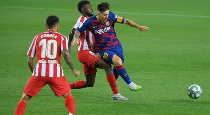 Video Showing Thomas Partey's La Liga Exit, A Huge Relief To Messi