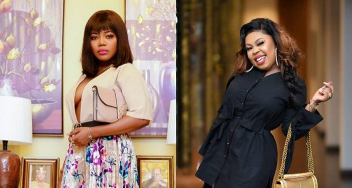 """(Video) """"God Does Not Bless Drunkards With Twins"""" - Afia Schwarzenegger Jabs Mzbel After She Lost Her Unborn Twins"""