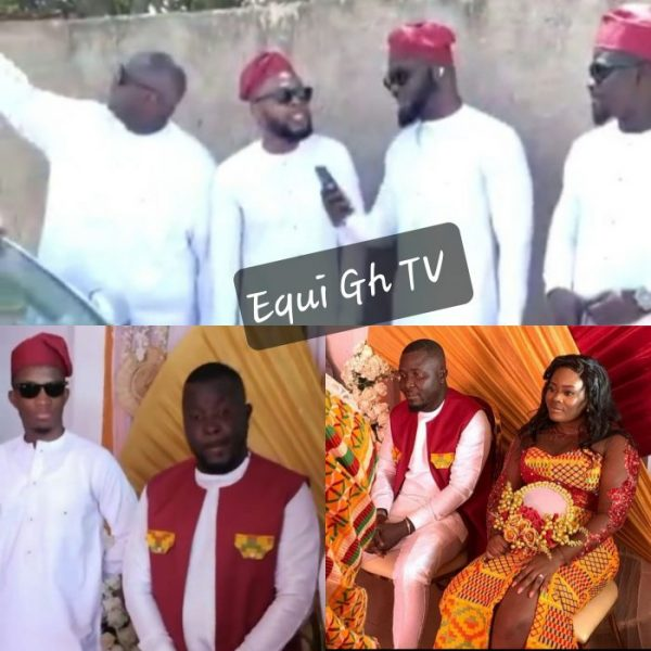 [Video] Kofi Kinaata, Kalybos And Other Celebrities Storms Dr Pounds' Wedding In Cape Coast