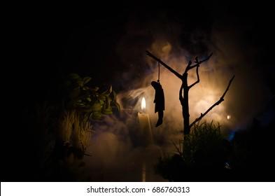 Oti Region: 10yrs Child Hangs To Death On Mango Tree