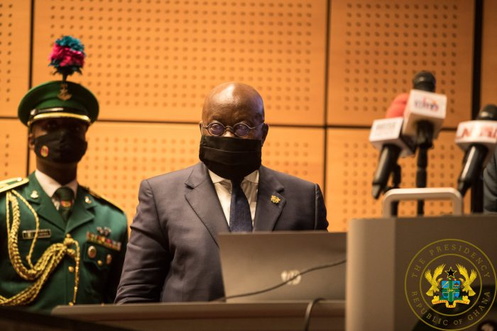 [Photo] President Akufo-Addo Announces 19-Member Cabinet For Second Term