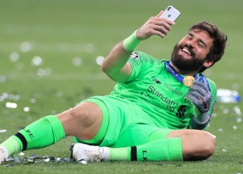 Alisson beats Salah and Babajide to Liverpool Goal of the Season prize