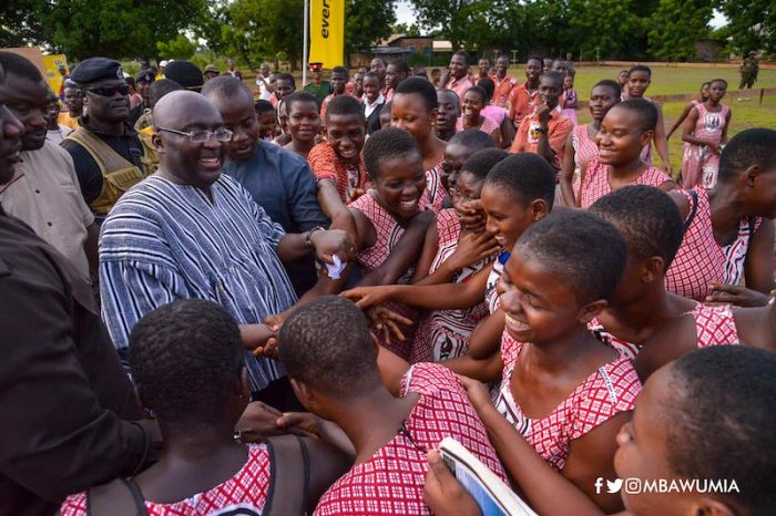 Bawumia opens new house, 600-bed girls' dormitory for TAMASCO