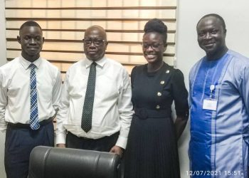 THE PRESIDENT OF FG-MELSA MEETS WITH THE ALLIED HEALTH PROFESSIONS COUNCIL