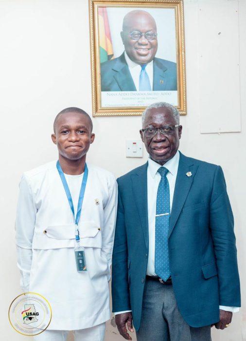 USAG Meets Senior Advisor To The President