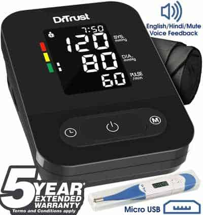 Top 3 Best Automatic Digital Blood Pressure Monitor India 2020