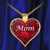 Mom Always My Mother Forever My Friend Mothers Day Necklace