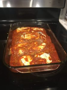 chicken parmesan image baked