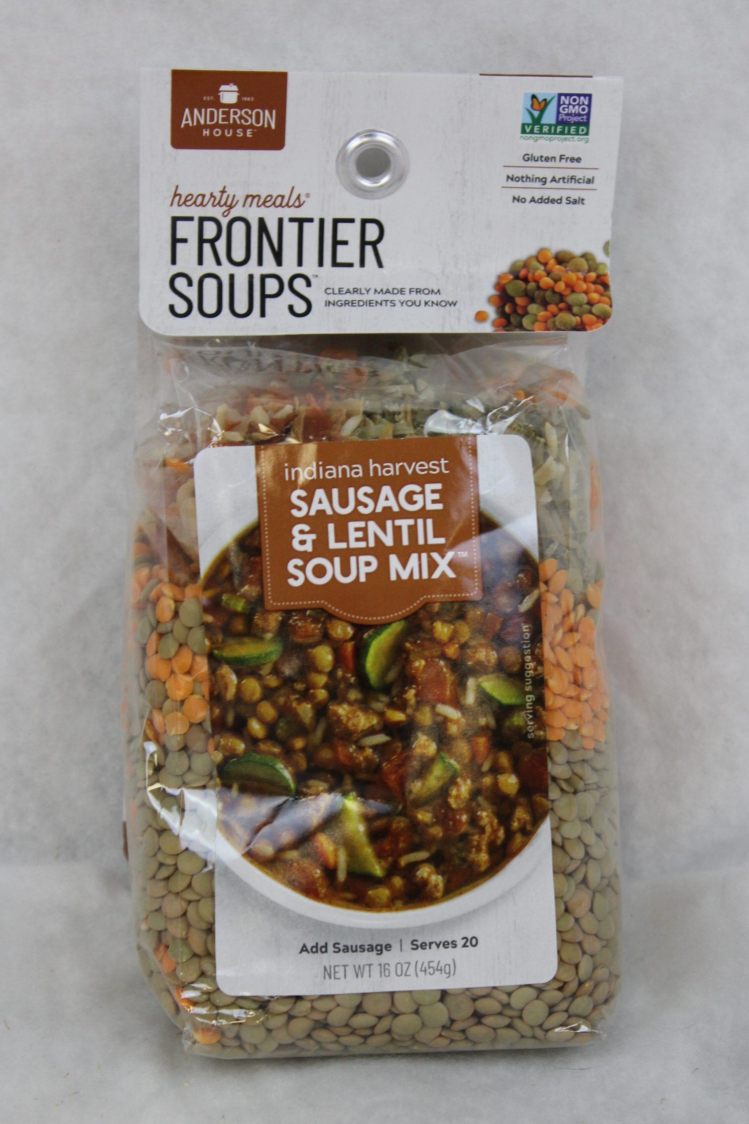sausage lentil soup mix product image