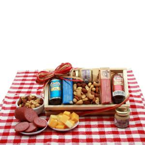 Signature Sampler Meat & Cheese Snack Set product image
