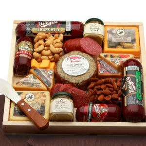 Deluxe Meat & Cheese Lovers Sampler Tray product image