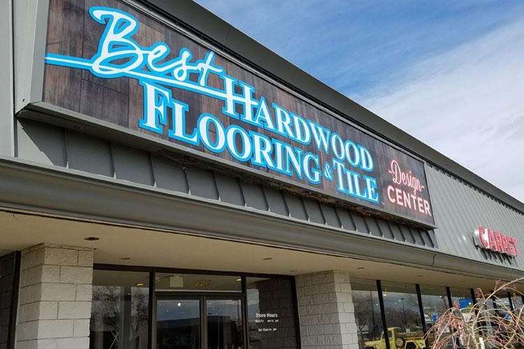 best hardwood flooring and tile showroom