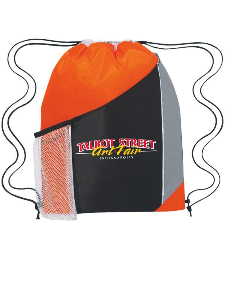 orange_polyester_bag_custom_heat_transfers