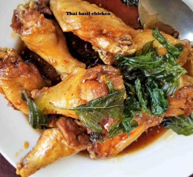 Thai basil recipe