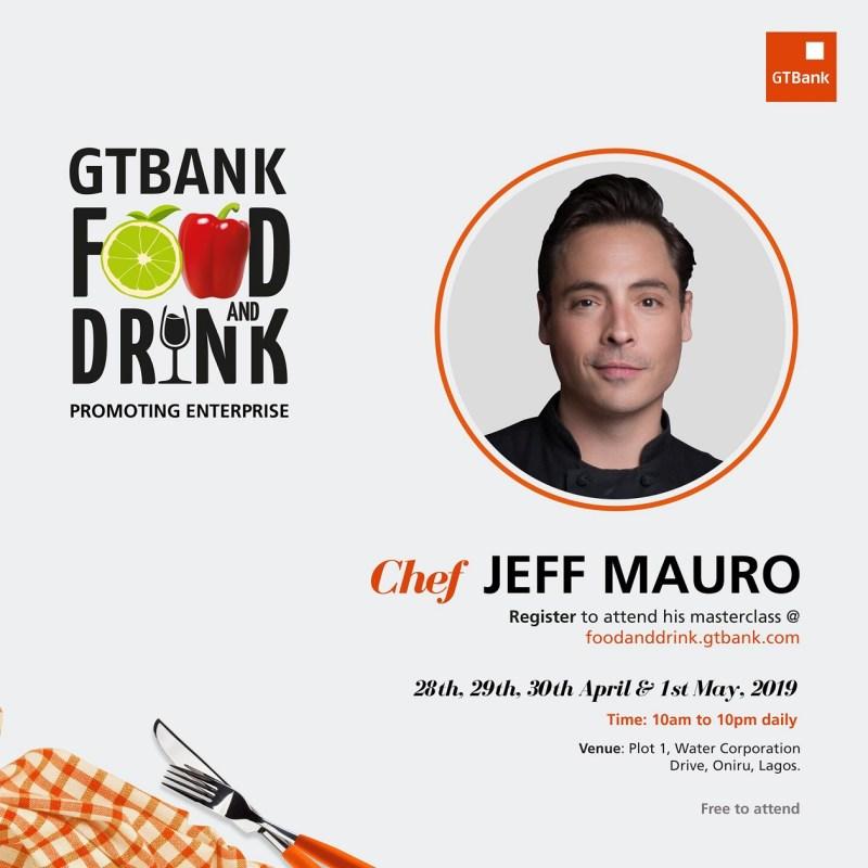 GTBank Chef Jeff Mauro