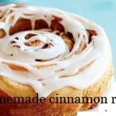 mother's day cinnamon rolls
