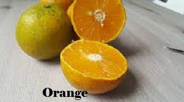 Orange for clear skin diet
