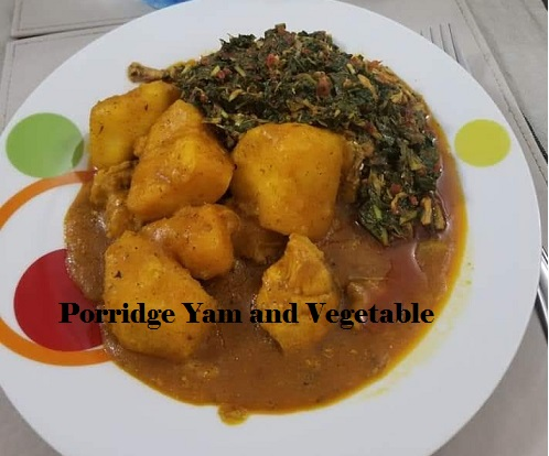 Yam Vegetable