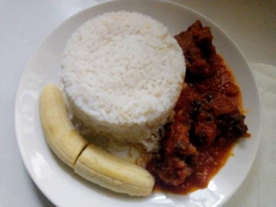 Banana rice