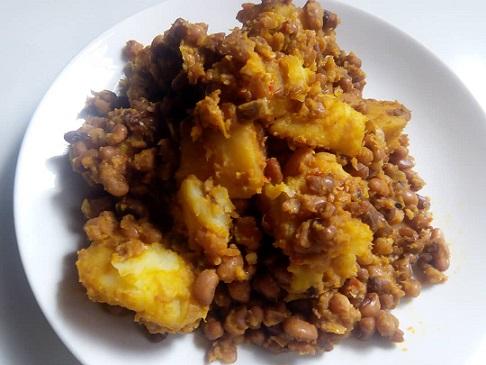 Beans and Potato Porridge