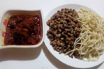 Spaghetti with Beans