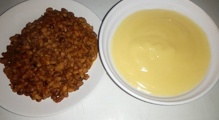 Beans and pap