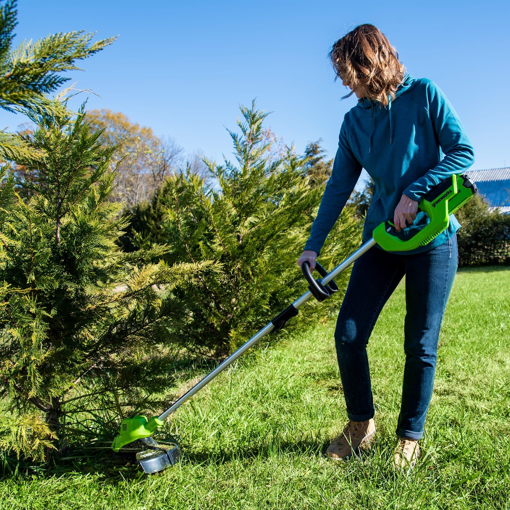 Best Battery Powered Weed Eater   Best Home Gear