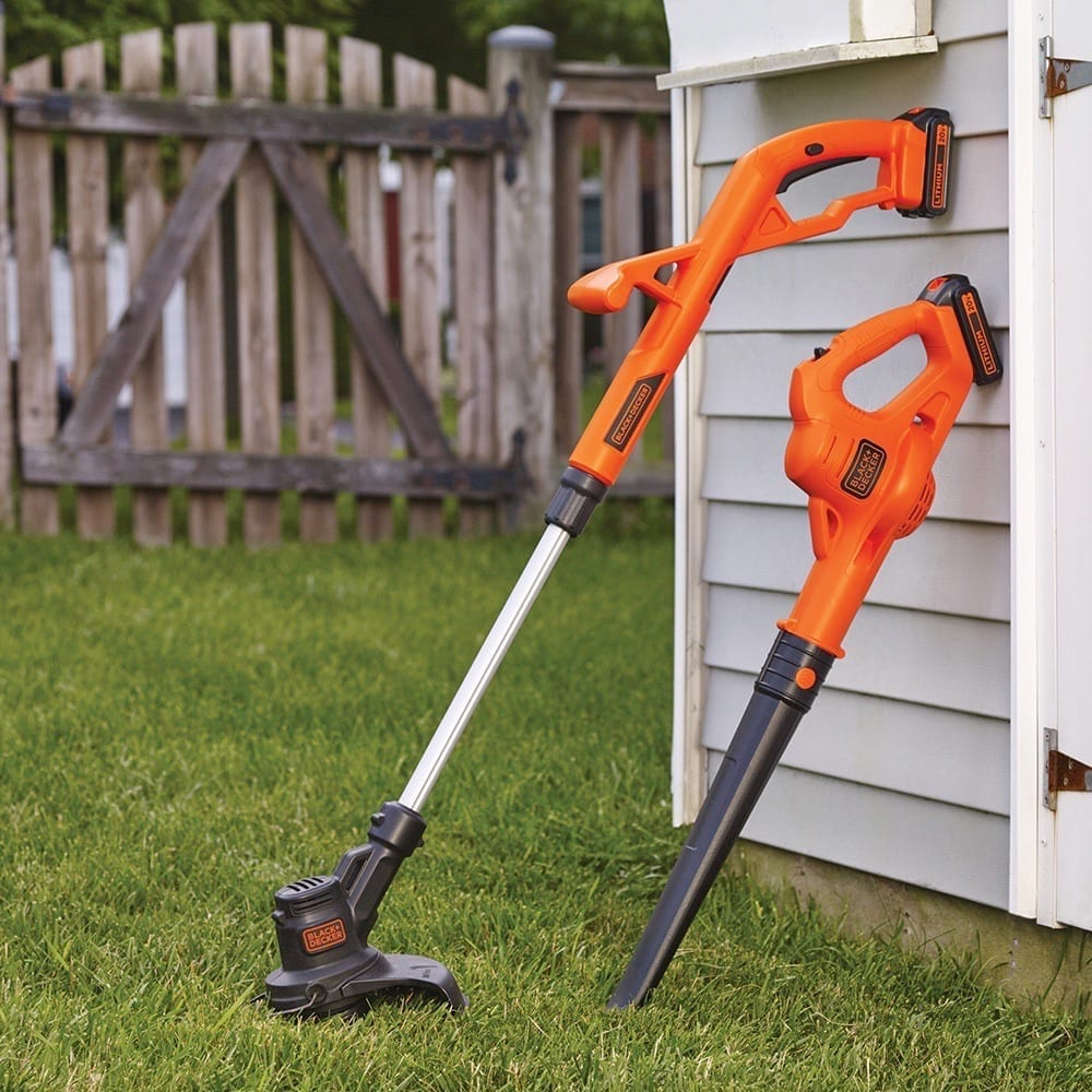 Electric Leaf Blower/String Trimmer Combo