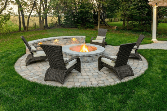 best fire pit for seating