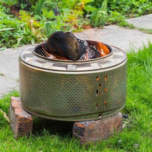 Washing machine drum | Portable Fire Pit