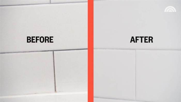 Grout Before After Cleaning | Best Home Gear