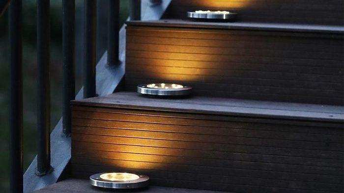 solar ground lights - best home gear