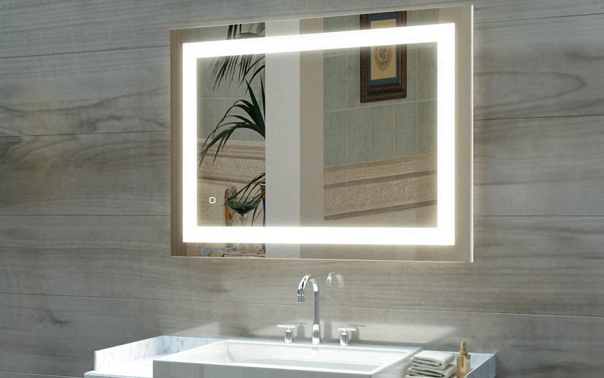 mirror with lights - best home gear