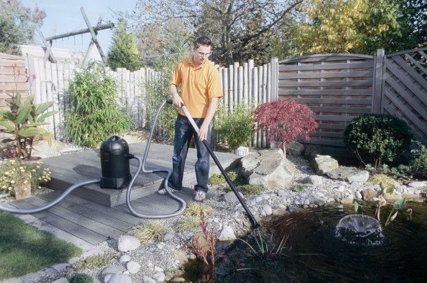 Removing HEPA filter when using shop vac for water