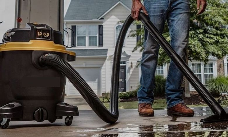Using shop vac for water - Best Home Gear
