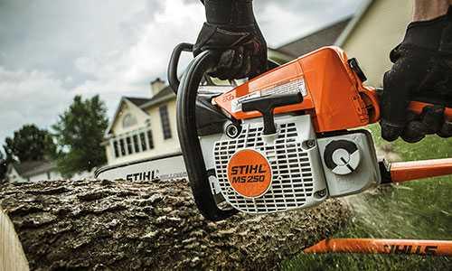 stihl ms 250 chainsaw - best home gear