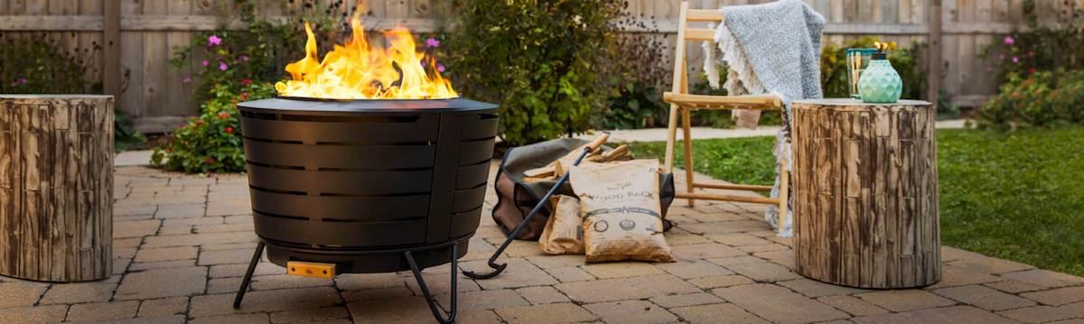 outdoor fire pits - best home gear