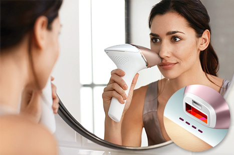 استخدام جهاز ليزر فيليبس لازالة الشعر