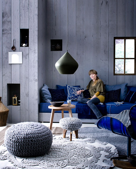Indigo Colour For Decoration Best Home News Ll About
