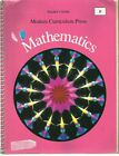Modern Curriculum Press Mathematics Level B Teachers Guide ISBN 0813631173