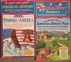 Lot of 4 AMERICAN HISTORY Teaching Resources Books Scholastic Homeschool