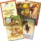 Lot 5 SONLIGHT CORE D Readers Homeschool Caddie Beaver Stone Fox Justin Boar