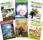 NEW Childhood of Famous Americans Ready to Read 6 Book SET Beginning Reading