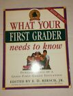 What Your First Grader Needs to Know Fundamentals of a Good First Grade Educati