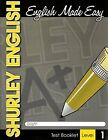 2007 SHURLEY METHOD ENGLISH LEVEL ONE TEST BOOKLET By Various BRAND NEW