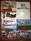 Notgrass America the Beautiful Set Of 3 books Plus Answer Key We the People